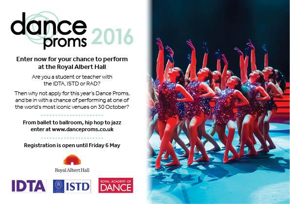 Dance Proms e-flyer