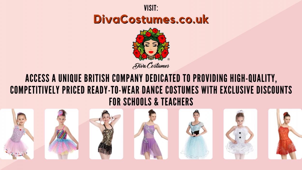 Diva Costumes Sponsor the 2021 Theatre Dance Awards Online