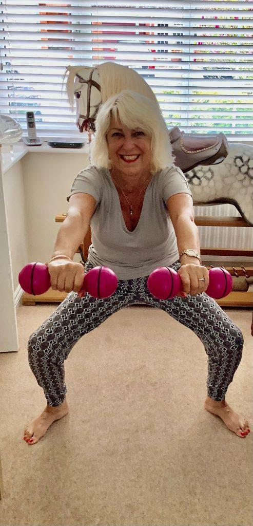 Anna Jones Captain Tom Challenge - 100 Squats