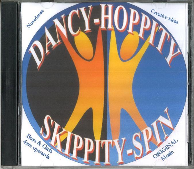 DANCY HOPPITY SKIPPITY SPIN CD