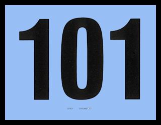 NUMBER CARDS 101-200 BLUE