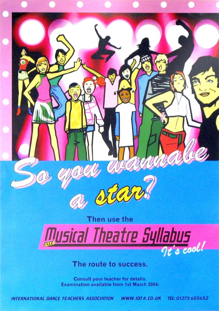 MUSICAL THEATRE SYLLABUS A3 POSTER