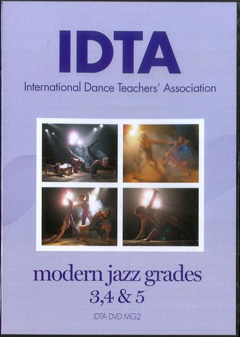 MODERN JAZZ - GRADES 3 - 5 DVD