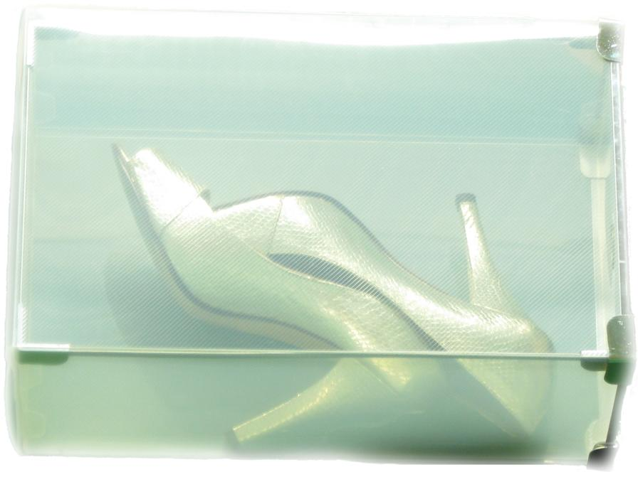 Clear View Shoe Boxes With Lids PACK OF 5 FOR ONLY £14.00 (SALE)
