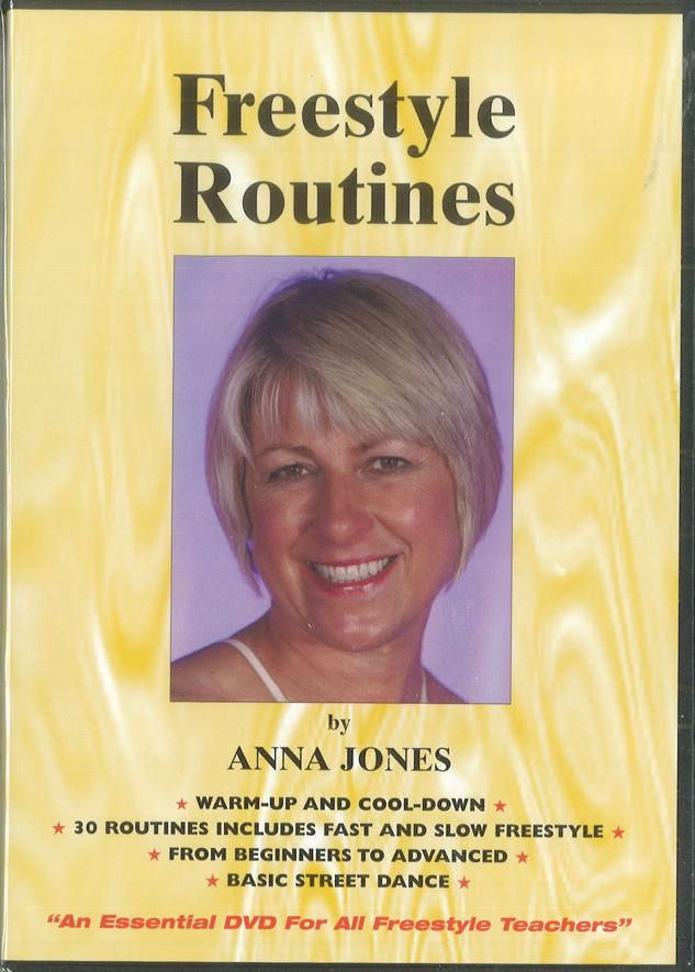 FREESTYLE DANCE ROUTINES DVD BY ANNA JONES