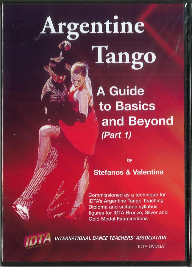ARGENTINE TANGO - A GUIDE TO BASICS AND BEYOND (PART 1) DVD