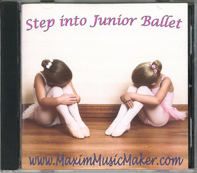 STEP INTO JUNIOR BALLET CD