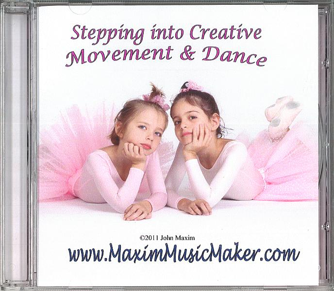 STEPPING INTO CREATIVE MOVEMENT & DANCE CD