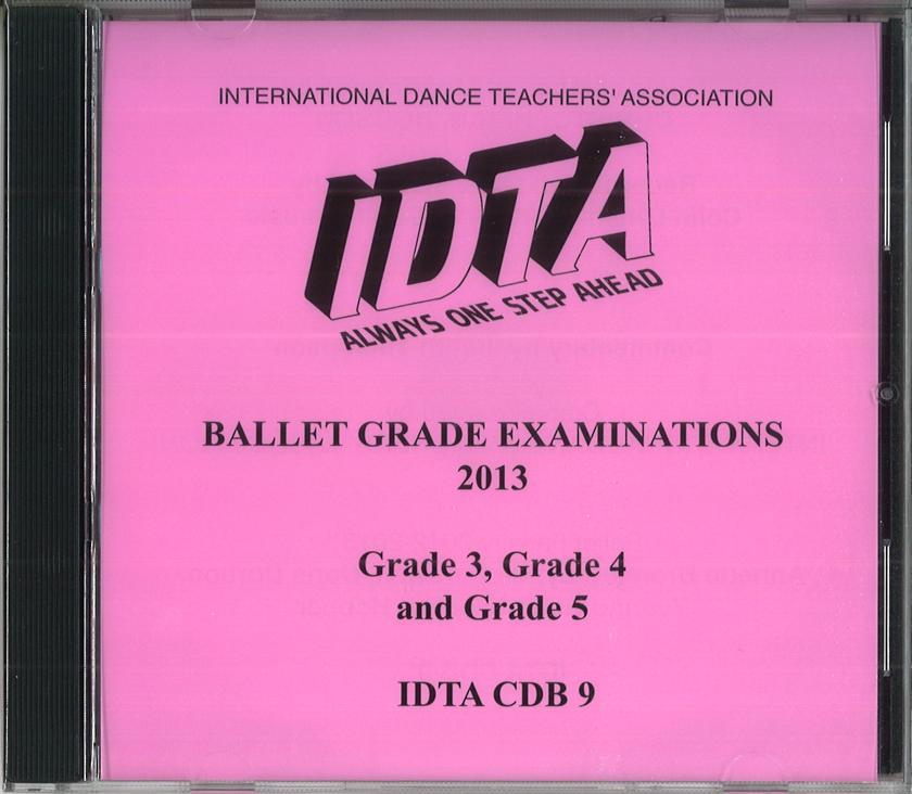 BALLET GRADE EXAMINATIONS - GRADE 3, GRADE 4 & GRADE 5 CD - NEW