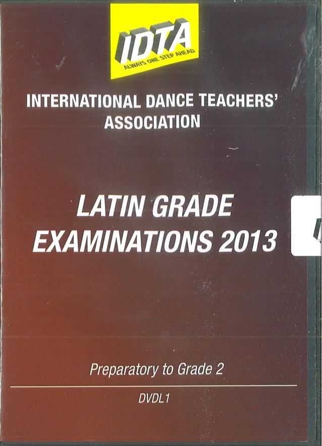 LATIN GRADE EXAMINATIONS 2013 - PREPARATORY TO GRADE 2 DVD