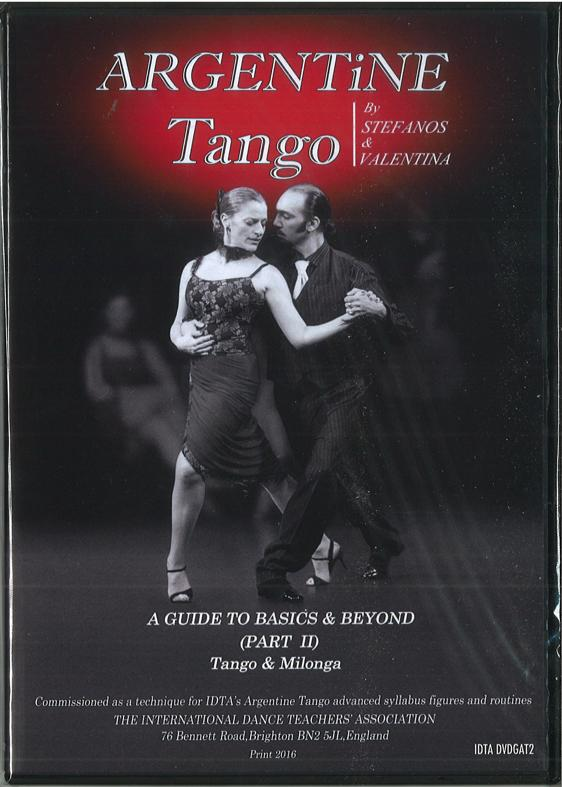 ARGENTINE TANGO - A GUIDE TO BASICS AND BEYOND (PART 2) DVD