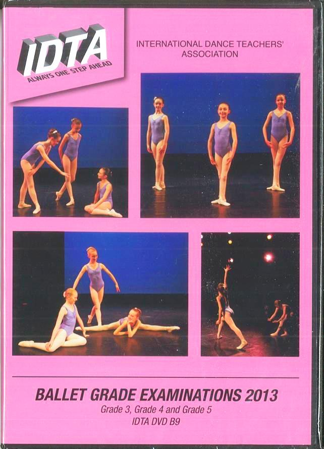 BALLET GRADE EXAMINATONS - GRADE 3, GRADE 4 & GRADE 5 DVD - DIGITAL DOWNLOAD