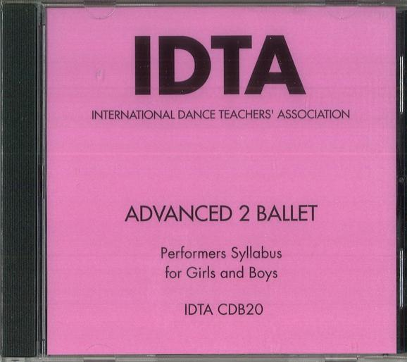 ADVANCED 2 BALLET CD - DIGITAL DOWNLOAD