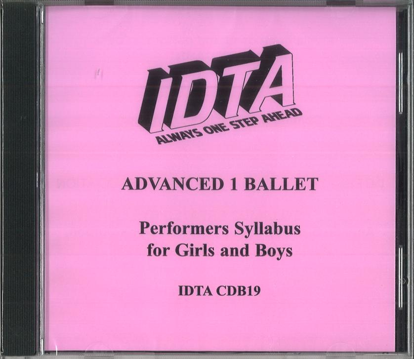 ADVANCED 1 BALLET CD - DIGITAL DOWNLOAD