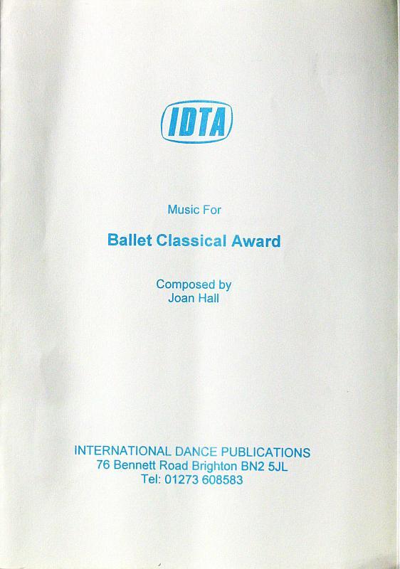 Ballet Sheet Music for Classical Ballet Award 1