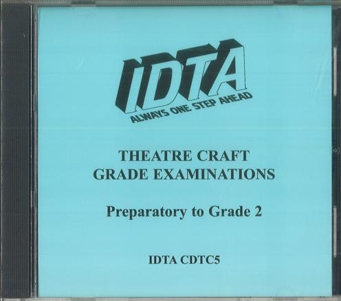 THEATRE CRAFT (PREPARATORY - GRADE 2) - DIGITAL DOWNLOAD