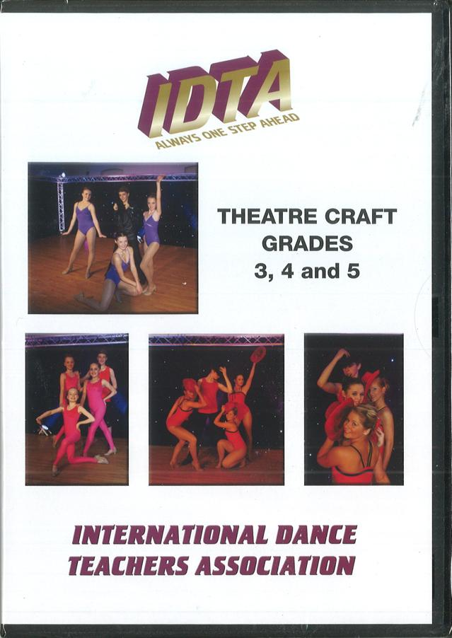 THEATRE CRAFT GRADES 3, 4 AND 5. - DIGITAL DOWNLOAD