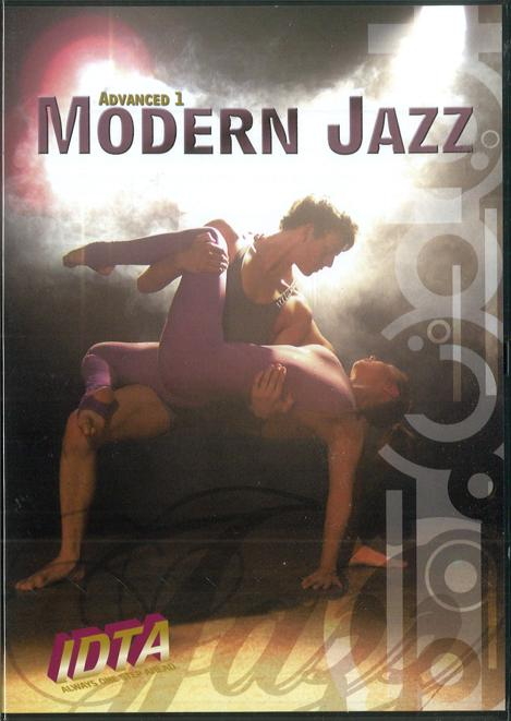 MODERN JAZZ ADVANCED 1 DVD - DIGITAL DOWNLOAD