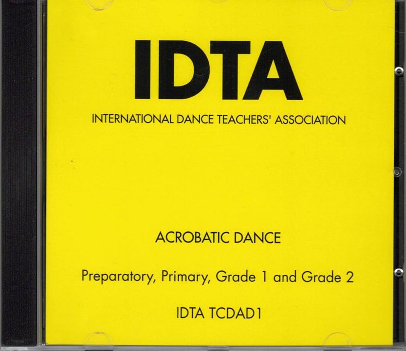 ACROBATIC DANCE PREP TO GRADE 2 CD - DIGITAL DOWNLOAD