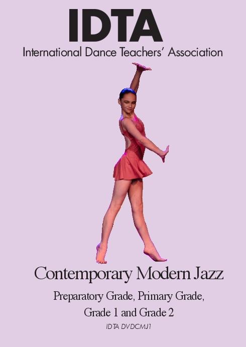 CONTEMPORARY MODERN JAZZ PREP TO GRADE 2 DVD