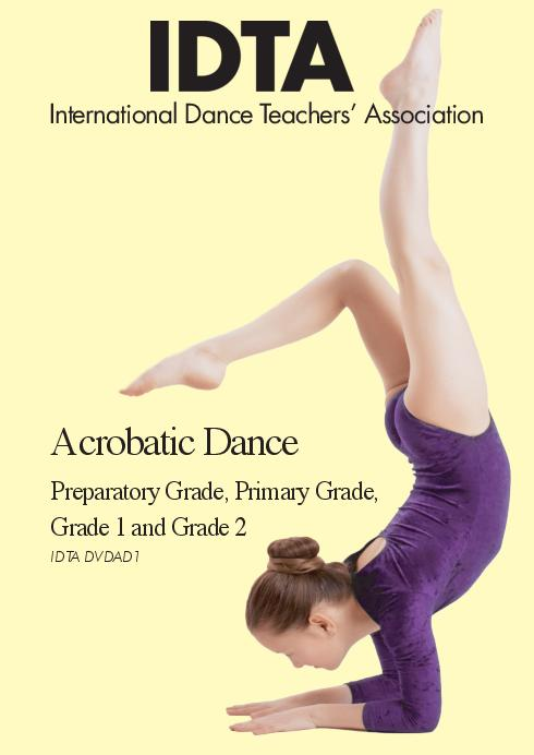 ACROBATIC DANCE PREP TO GRADE 2 DVD - DIGITAL DOWNLOAD