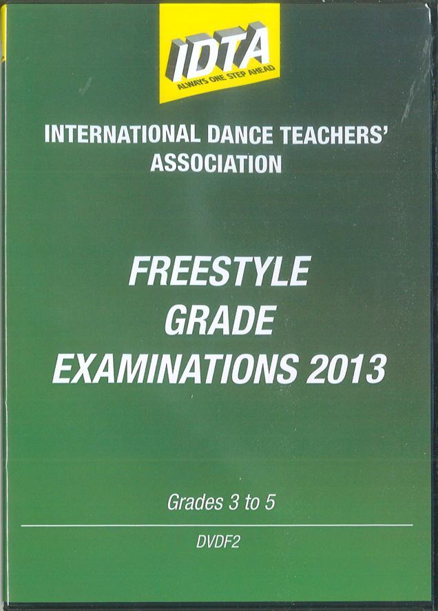FREESTYLE GRADE EXAMINATIONS 2013 - GRADE 3, GRADE 4 & GRADE 5 - DIGITAL DOWNLOAD