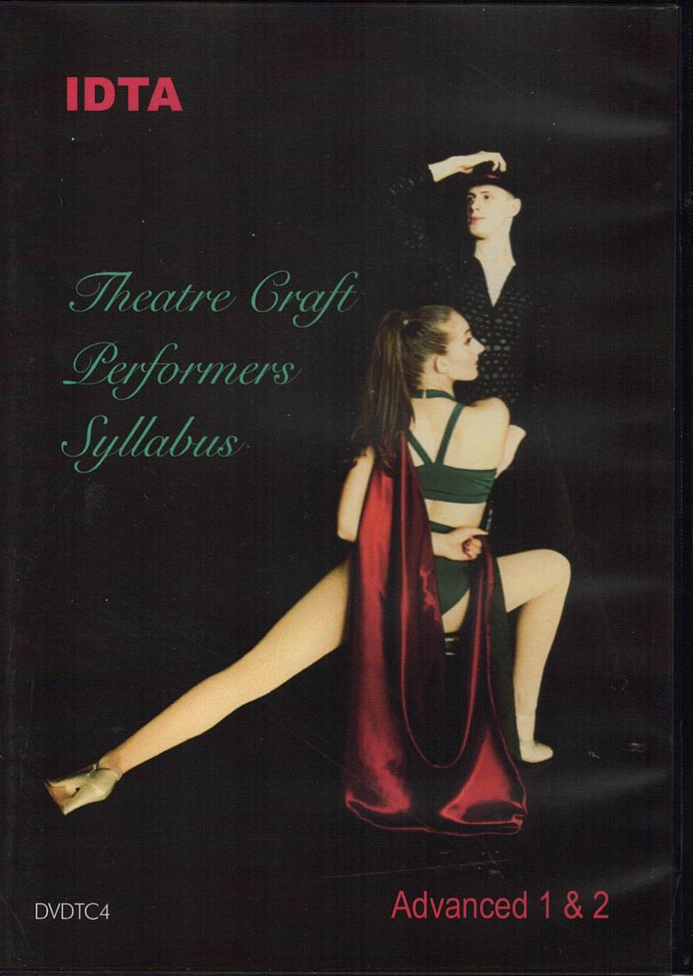 THEATRE CRAFT ADVANCED 1 & 2 PERFORMERS SYLLABUS DVD