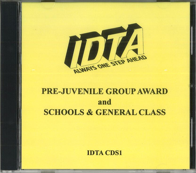 PRE-JUVENILE GROUP AWARD AND SCHOOLS & GENERAL CLASS CD - DIGITAL DOWNLOAD