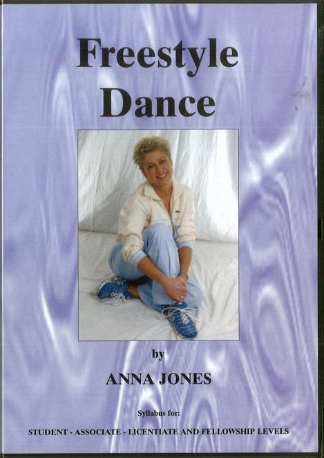 FREESTYLE DANCE DVD BY ANNA JONES - DIGITAL DOWNLOAD