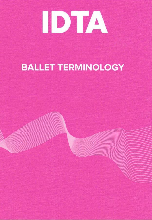 BALLET TERMINOLOGY