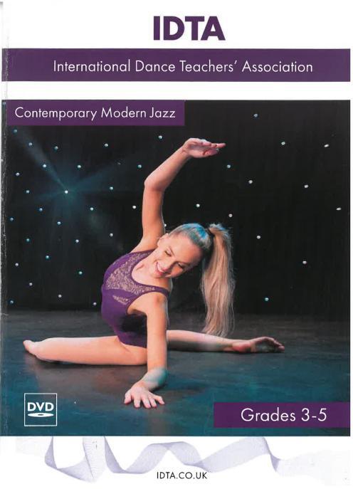 CONTEMPORARY MODERN JAZZ GRADES 3-5 DVD - DIGITAL DOWNLOAD
