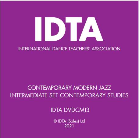 CONTEMPORARY MODERN JAZZ INTERMEDIATE PERFORMERS AWARD DVD - DIGITAL DOWNLOAD
