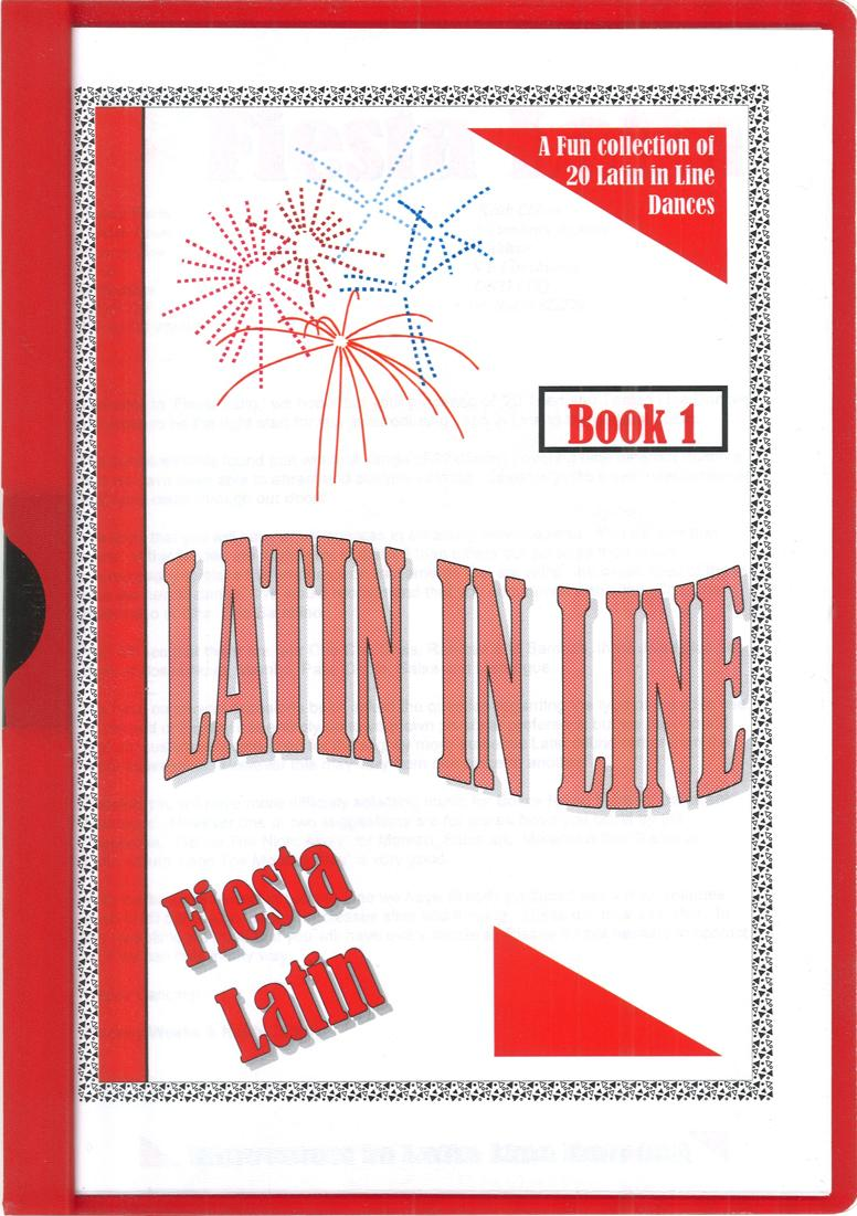 LATIN IN LINE DANCES VOL. 1 - 20 DANCES BY RODNEY WEEKS & KEITH CLIFTON
