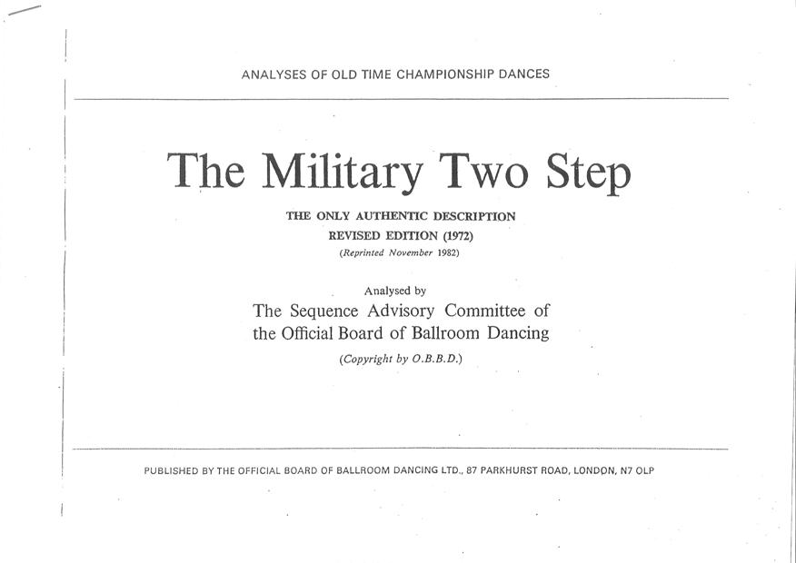 MILITARY TWO STEP