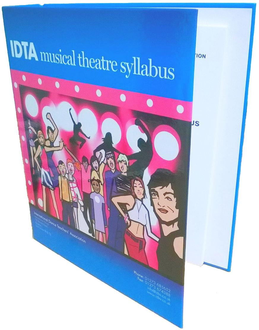 MUSICAL THEATRE SYLLABUS IN RING BINDER