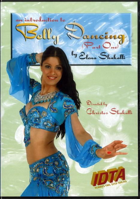 AN INTRODUCTION TO BELLY DANCING (PART 1) DVD BY CHRISTOS SHAKALLIS & ELENA SHAKALLI