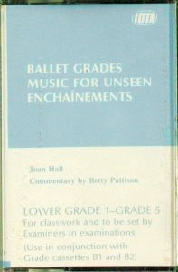 BALLET UNSEEN ENCHAINEMENTS - CASSETTE