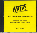 GENERAL DANCE PROGRAMME - ALL GRADES & ABILITIES CD.