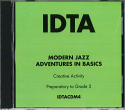 MODERN JAZZ ADVENTURES IN BASICS (PREPARATORY - GRADE 5) CD.