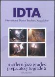 MODERN JAZZ - PREPARATORY - GRADE 2 DVD