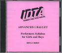 ADVANCED 1 BALLET CD