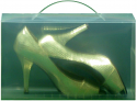 Clear View Shoe Boxes With Carry Handle PACK OF 5 FOR ONLY £7.00