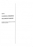 CLASSICAL SEQUENCE FELLOWSHIP DANCES.
