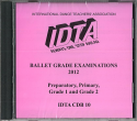 BALLET GRADE EXAMINATIONS PREPARATORY - GRADE 2 CD - NEW