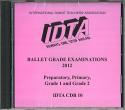 BALLET GRADE EXAMINATIONS PREPARATORY - GRADE 2 CD - NEW