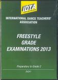 FREESTYLE GRADE EXAMINATIONS 2013 - PREPARATORY TO GRADE 2 DVD