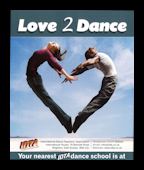 LOVE 2 DANCE - PACK OF 10 POSTERS A3