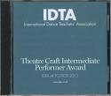 THEATRE CRAFT INTERMEDIATE PERFORMER AWARD