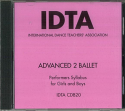 ADVANCED 2 BALLET CD - NEW