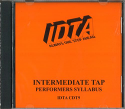 TAP INTERMEDIATE PERFORMERS SYLLABUS EXAMINATION CD - DIGITAL DOWNLOAD